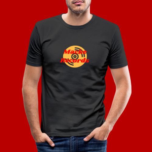 mackerecords merch - Slim Fit T-shirt herr