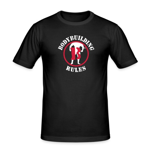 logo BBR 2015 vectorise b - T-shirt près du corps Homme