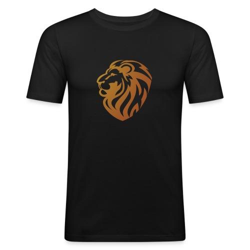 Bronze lion - T-shirt près du corps Homme