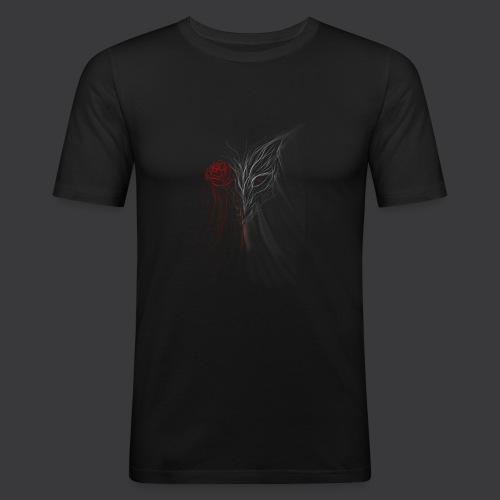 WOLFROSS - Maglietta aderente da uomo