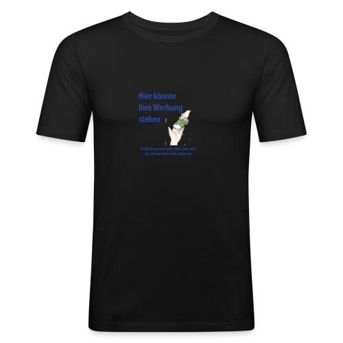 Werbung - Männer Slim Fit T-Shirt