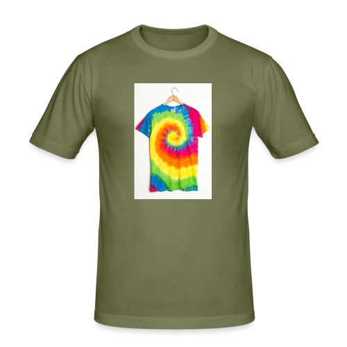 tie die small merch - Men's Slim Fit T-Shirt