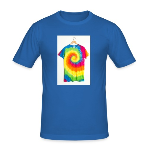 tie die small merch - Men's Slim Fit T-Shirt