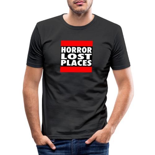 Horror Lost Places - Männer Slim Fit T-Shirt