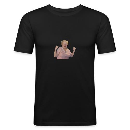 Best Off Omi - Männer Slim Fit T-Shirt