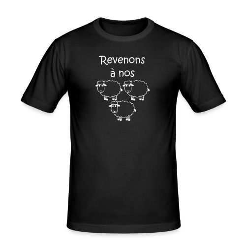 revenons-a-nos utons - T-shirt près du corps Homme