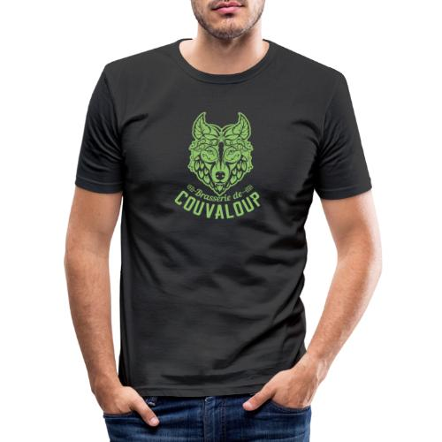 Simple Green Staff Logo - T-shirt près du corps Homme