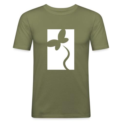 NeedRent logo - Herre Slim Fit T-Shirt