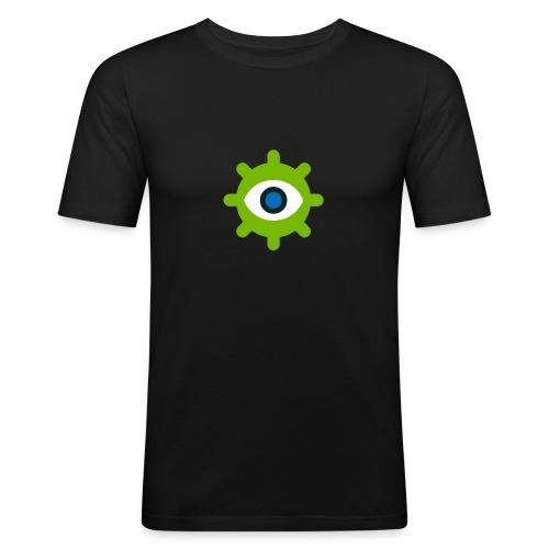 iGasima Shop - Maglietta aderente da uomo