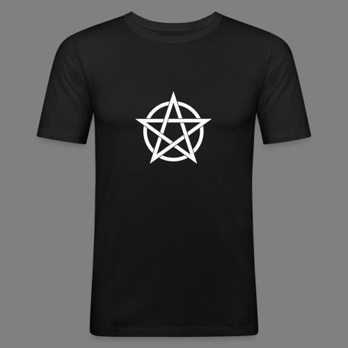 pentagramm - Männer Slim Fit T-Shirt