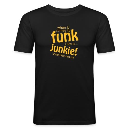 Funk Junkie - Men's Slim Fit T-Shirt