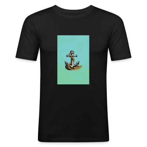 Ancla - Camiseta ajustada hombre