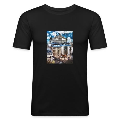 Paris - Herre Slim Fit T-Shirt
