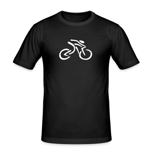 fietsen - Mannen slim fit T-shirt