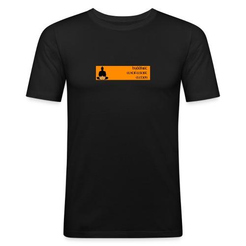 baa Slim-Fit-Shirt - Männer Slim Fit T-Shirt