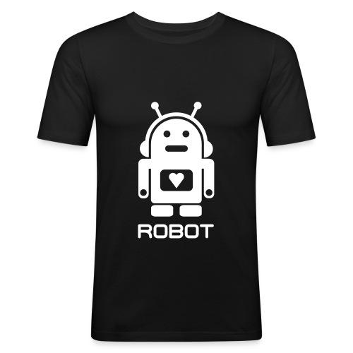 ROBOT - Herre Slim Fit T-Shirt