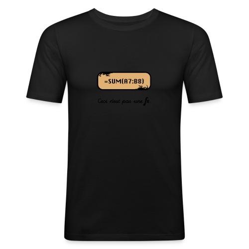 Ceci n est pas une fx 3 - Men's Slim Fit T-Shirt
