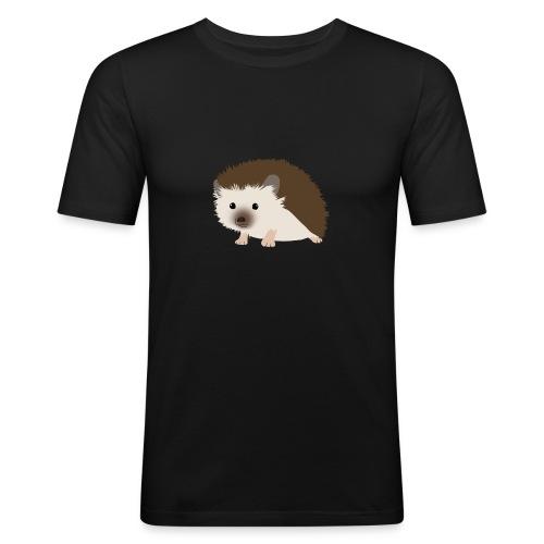 Siili - Miesten tyköistuva t-paita