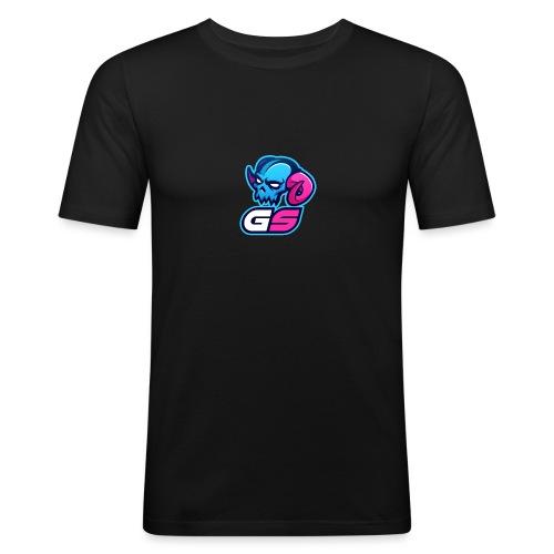 GS Freddy Mascot Logo - Men's Slim Fit T-Shirt