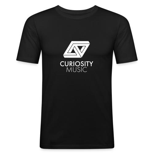 Curiosity Music - T-shirt près du corps Homme