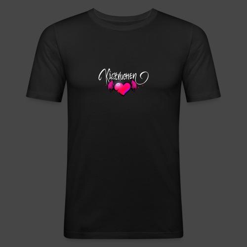 Logo and name - Men's Slim Fit T-Shirt