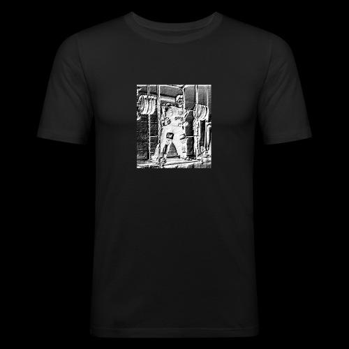 Squat! Get Strong! - Miesten tyköistuva t-paita