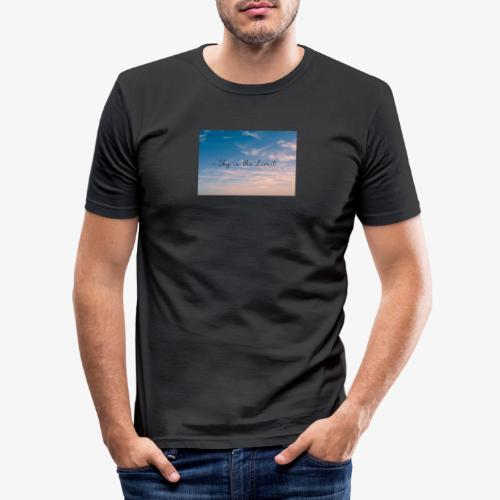 Sky is the limit - Männer Slim Fit T-Shirt