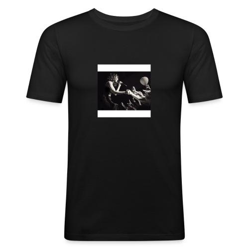 taloushe - T-shirt près du corps Homme