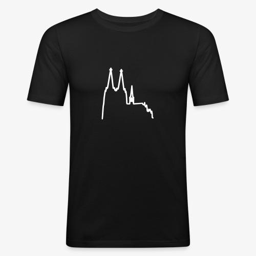 Kolonia Dom - klein - Männer Slim Fit T-Shirt