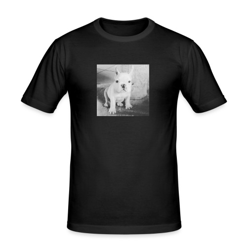 Billy Puppy - Mannen slim fit T-shirt