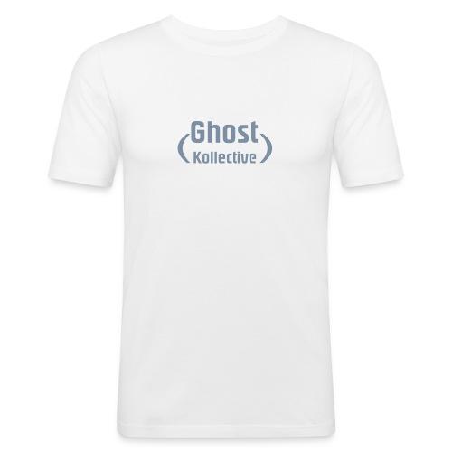 Ghost Kollective Logo - Men's Slim Fit T-Shirt