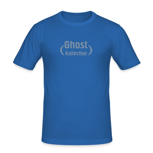 Ghost Kollective Logo - Men's Slim Fit T-Shirt