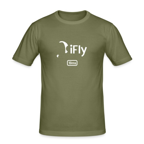 Paragliding iFly 10ms - Men's Slim Fit T-Shirt