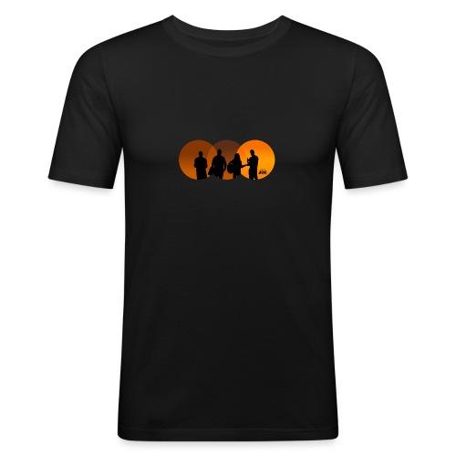 Motiv Cheerio Joe happy ends - Männer Slim Fit T-Shirt