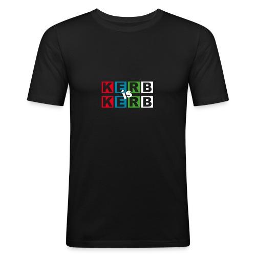 kerb is kerb - Männer Slim Fit T-Shirt