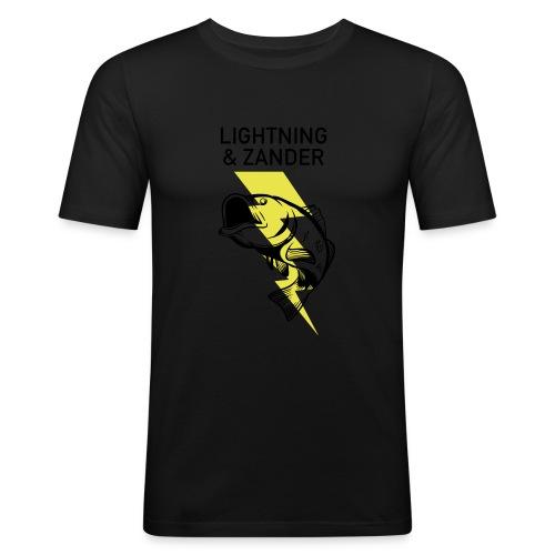 Lightning & Zander - Männer Slim Fit T-Shirt
