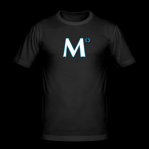 McRalph M White Blue - Männer Slim Fit T-Shirt