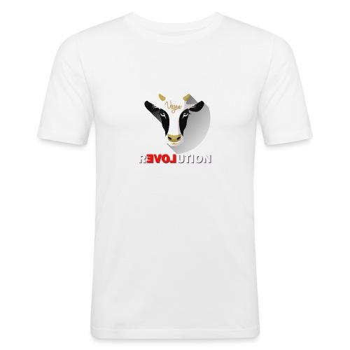 Vegan Revolution - T-shirt près du corps Homme