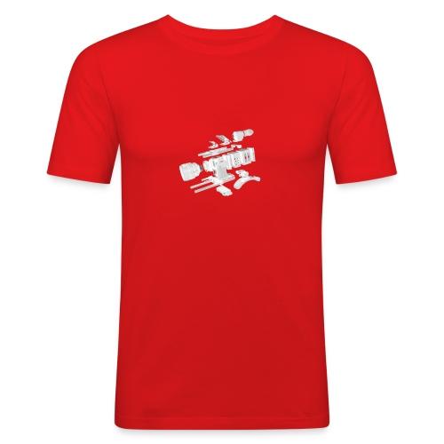 VivoDigitale t-shirt - RED - Maglietta aderente da uomo