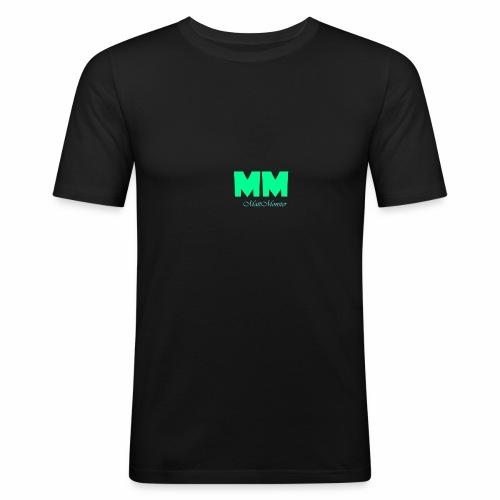 MattMonster Signature logo - Men's Slim Fit T-Shirt
