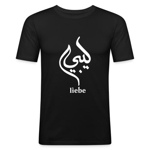 Liebe - Männer Slim Fit T-Shirt