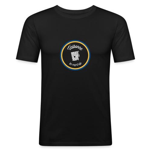 Valbonne la capitale - Le classique Blanc - T-shirt près du corps Homme