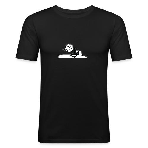 Meme Escupir - Troll Face -Taza - Camiseta ajustada hombre