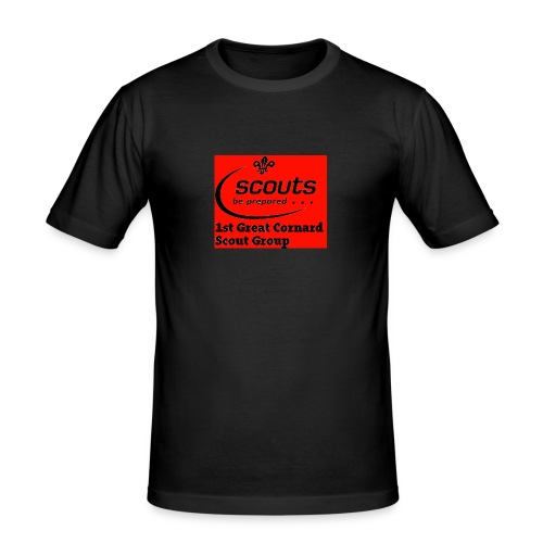 1st Great Cornard Scout Group - Men's Slim Fit T-Shirt