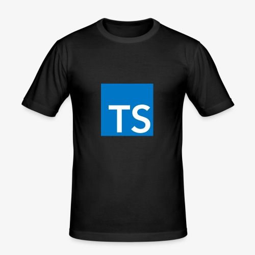 TypeScript Logo - Men's Slim Fit T-Shirt