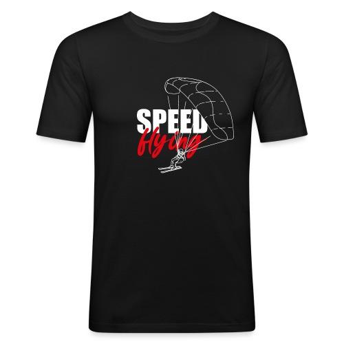 Speedriding Speedflying - Männer Slim Fit T-Shirt