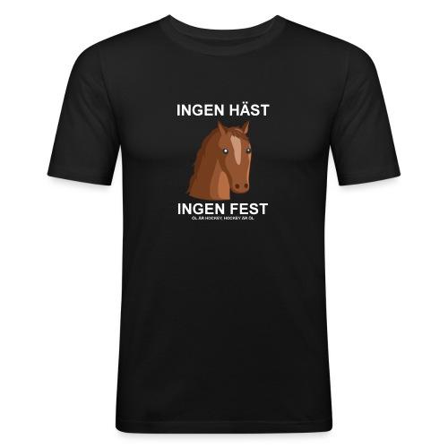 haestfest - Slim Fit T-shirt herr
