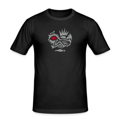 Skull Tribal 2 - Männer Slim Fit T-Shirt