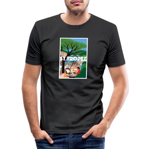 St Tropez - Men's Slim Fit T-Shirt