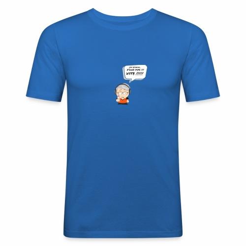 Le Vieux Bourré - T-shirt près du corps Homme